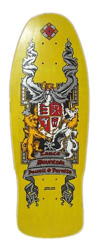 """Powell Peralta - Lance Mountain """"Crest"""". I wanted this deck soooo bad when it came out."""