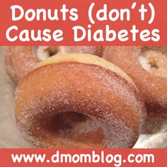 {NEW!} Donuts and Diabetes