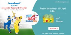 #Predict the Winner on 17th April b/w #Chennai & #Mumbai in 20-20 #Cricket Dhamaka 2015  http://www.foreseegame.com/user/GamePlay.aspx?GameID=QmPh%2b3hds%2fe5q41MCNkYRg%3d%3d
