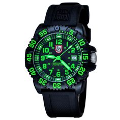 Shop for Luminox 3067 Authentic Men's Wrist-watch with Quartz Movement, PC Carbon Reinforced Case, Non Screw Down Crown and Black Dial at discounted price with free worldwide shipping in United States