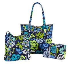 Okay so this is an actual pattern!!!!!  It is basically a blue version of lola!!!  It's a disney pattern.  Vera bradley and disney are now working together.  There is a Mickey Mouse head somewhere in this design.  You can't really notice it though, just a glance and it looks like plain old lola!!!