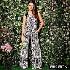 Estamparia étnica muito charmosa e confortável da Bik Bok. Coleção Primavera Verão 2016. #fashion #bikbok