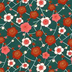 Papier japonais Chiyogami Merci Louisette - Bubble flower