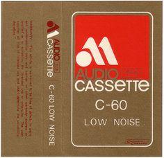 Vintage Tape design, dope colour scheme / screen print