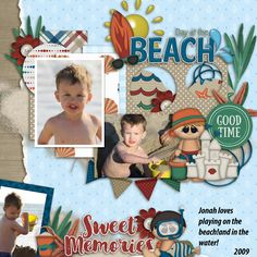Our boy loves the beach!  I used these from the September buffet Dagi's Autumn glory template: http://store.gingerscraps.net/Autumn-Glory.html Boomer's Girls Designs: Beach boys kit: http://store.gingerscraps.net/Beach-...l-Designs.html Aprilisa Picnic in the park kit: Kit: http://store.gingerscraps.net/Picnic...a-Designs.html
