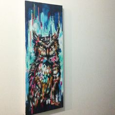 Great horned owl #greathornedowl  #owl #owls #owlart #owlfeathers #owlobsession #owllove #bird #feather #texture #spraypaint #acrylic #painting #fineart #sketches #sketching #friday #beauty #beautiful #artoftheday #artwork #artist #sianstoreyart #texture #colour #travelinspired #artist #art by sianstoreyart