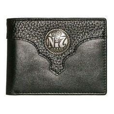 Old #7 Black Jack Daniels Bi-fold Wallet