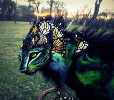 Absolutely stunning sculptures! These sculptures of impossible creatures look ready to spring to life
