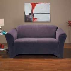 sure fit hanover stretch loveseat slipcover