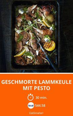 Geschmorte Lammkeule mit Pesto - smarter - Zeit: 30 Min.   eatsmarter.de