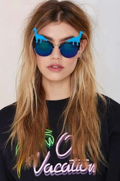 Rad + Refined Dino Life Shades. Actually if you have similar glasses, you can DIY this with plastic toy. Click the link to see details #DIY #Inspiration #Glasses #PlasticToys