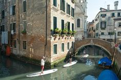 **SUP in Venice (stand up paddle boarding) - Venice