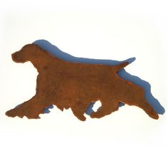 english springer spaniel wall silhouette by functionalsculpture