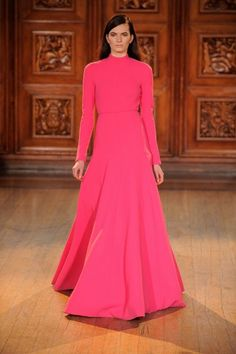 Hot Mulberry Gown !!!  Emilia Wickstead 2015