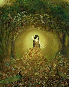 Summers Cauldron Mythological Goddess by Emily Balivet