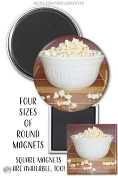 * Bowl of Popcorn Magnet by #Gravityx9 at Zazzle * A big, overflowing bowl of fresh popped popcorn! This fun, movie-time snack is placed on a magnet that is available in round or square shape options. * custom magnet * refrigerator magnet * custom magnet gift ideas * popcorn magnet * playing with food * budget gift ideas * gifts under $10 * gifts under 10 dollars * inexpensive gifts * inexpensive gift ideas * #refrigeratormagnet #Magnet #custommagnet #popcorn #popcornmagnet #playingwithfood 0621 Food Budget, Budget Meals, Pop Popcorn, Gifts Under 10, Big Bowl, Round Magnets, Refrigerator Magnets, Inexpensive Gift, Food Themes