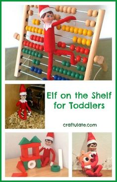 Elf on the Shelf for Toddlers from Craftulate