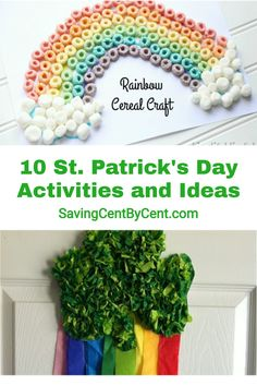 St. Patrick's Day is coming up and here are 10 activities and ideas to do with the kids. // St Patricks Day kids activities // St Patricks Day for kids // #stpatricksday