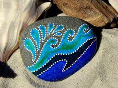 Splash / Painted Rock / Sandi Pike Foundas por LoveFromCapeCod