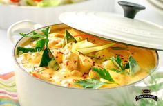 Thai-inspirerad Kycklinggryta - Bong Touch of Taste Asian Recipes, Healthy Recipes, Ethnic Recipes, Food For The Gods, Good Food, Yummy Food, Tasty, Swedish Recipes, Food Inspiration
