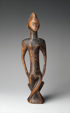 Senufo peoples, 19th–mid-20th century, Folona region, Mali. H. 12 1/2 in. The Michael C. Rockefeller Memorial Collection, Metropolitan Museum of Art, New York.