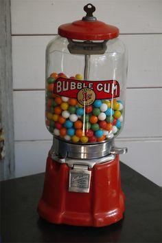 Distributeur à bonbon Americain 1950 morris Illinois