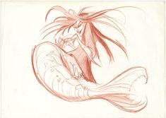 Disney Studios Character Research (The Little Mermaid 1989)