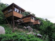 V House: Micro Cabin up in the Jungle