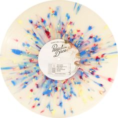 Too Weird To Live, Too Rare To Die!, Album by Panic! At The Disco. Clear vinyl with red, yellow & blue splatters. Collection of unusual, rare vinyl and unique colored collectible records. Vinyl Decor, Vinyl Art, Need Friends, Cute Room Decor, Diy Crafts Hacks, Rare Vinyl, Music Artwork, Vinyl Music, Panic! At The Disco