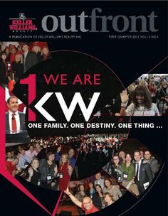 Keller Williams Outfront Magazine Online Edition for 1st Quarter 2013