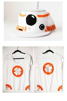 DIY Star Wars costumes for kids: BB-8 costume tutorial and printable from All For the Boys