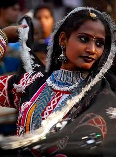 The Kalbelia tribe of Rajasthan are gypsies and are popular for their dancers.Dance little lady dance by sanjayausta We Are The World, People Around The World, Beautiful People, Beautiful Women, Beauty Around The World, Cultural, World Cultures, Dark Skin, Indian Beauty