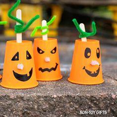 10 ideias de como fazer uma abóbora para o Halloween - Tempojunto   Aproveitando cada minuto com seus filhos