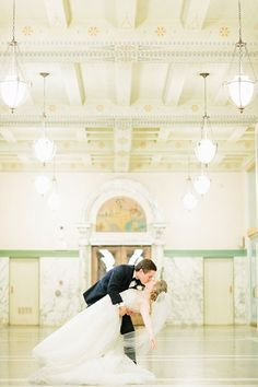 If you love to dance, create a choreographed number to entertain your family and friends with your amazing skills! Emily and Tye met in ballet school back when they were kids, and they showed off their graceful moves during a beautiful ballet-inspired first dance.