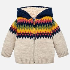 d9f971ce706 2346 Mayoral Woolen Knit Zippered Hoodie Sweater