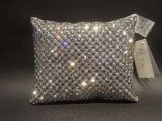 Kylie at home Alira cushion in Pewter | The Glitter Furniture Company®