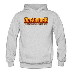 MARC Womens Oceanhorn Monster Of Uncharted Seas Hooded Sweatshirt Ash Size L -- Check out this great product.