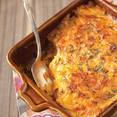 No Thanksgiving table is complete without sweet potatoes. Try our sweet potatoes au gratin this season for a fun twist on a classic side dish.