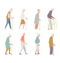 architecture old people Characters set of elderly peoples funny Royalty Free Vector Architecture Tattoo, Architecture People, Architecture Visualization, Architecture Graphics, Architecture Portfolio, Rendering Architecture, Architecture Diagrams, House Architecture, Render People