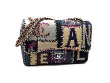 CHANEL FABRIC PATCHWORK CHAIN SHOULDER BAG A65447 (DH36690)