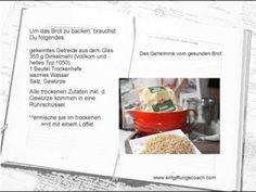 Gekeimtes Brot backen - http://back-dein-brot-selber.de/brot-selber-backen-videos/gekeimtes-brot-backen/
