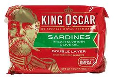 King Oscar Sardines, in Extra Virgin Olive Oil 3.75 Oz (Pack of 6) >>> Instant discounts available  : Baking supplies