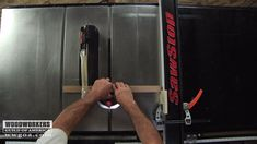 Using a Stop Block with a Table Saw Fence Home Made Table Saw, Best Table Saw, Diy Table Saw, A Table, Woodworking Videos, Woodworking Shop, Woodworking Crafts, Table Saw Fence, Table Saw Stand