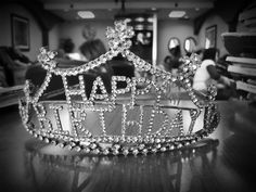 Vintage Birthday Crown!!