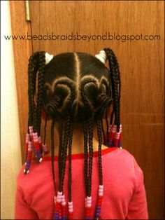 heart braids...wow