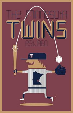 #vintage #baseball #Minnesota #Twins