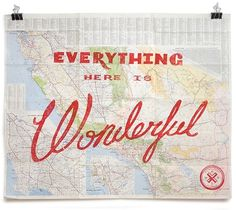 Everything Here Is Wonderful Maps   CMYBacon