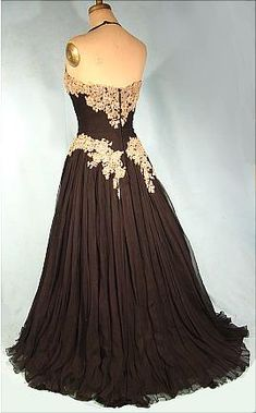 Evening Gown 1950