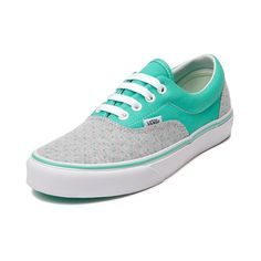 Shop for Vans Era Dots Skate Shoe in Gray Mint at Journeys Shoes. Shop today for the hottest brands in mens shoes and womens shoes at Journeys.com.Smile for awesome dots and summertime sunshine! Available only at Journeys and SHI, this cheery Vans Era features a two tone mint and gray canvas upper, polka dot print vamp, padded collar, and vulcanized rubber sole with waffle tread. Available only at Journeys and SHI! Available for shipment in June; pre-order yours today!