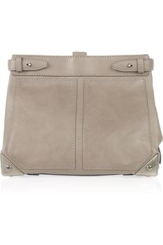 ALEXANDER WANG  Adele leather fold-over trunk clutch